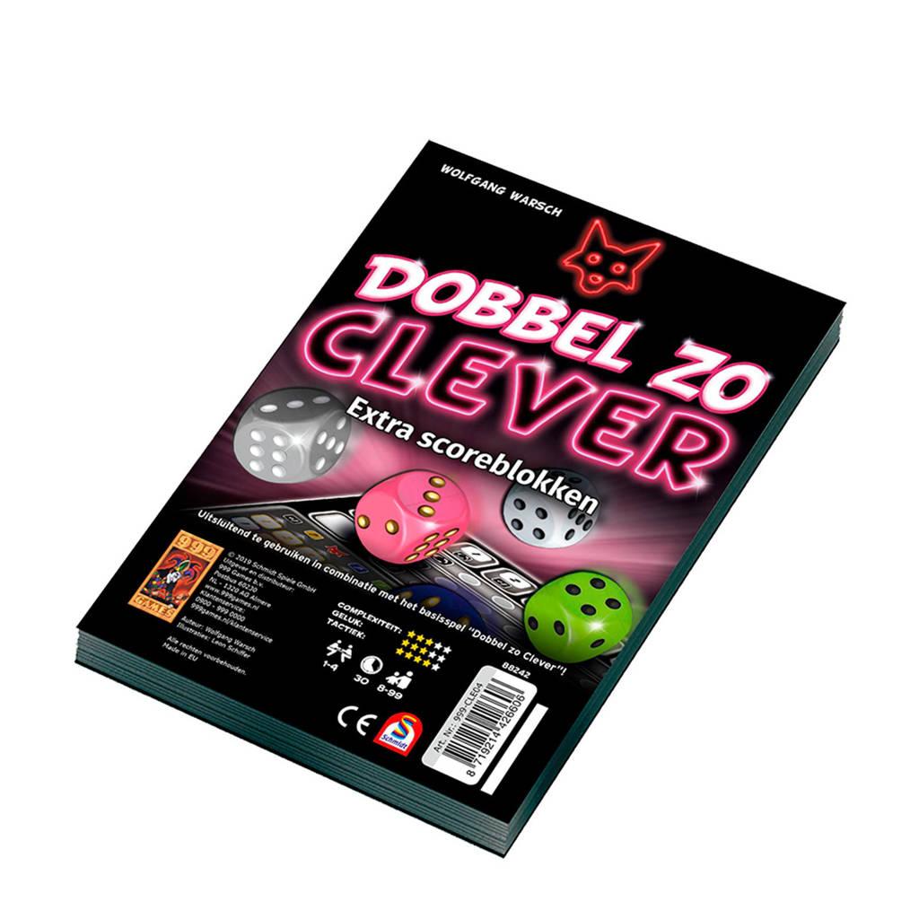 999 Games Dobbel zo Clever Scoreblok uitbreidingsspel