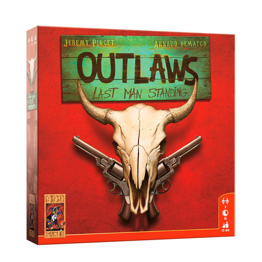 999 Games Outlaws bordspel