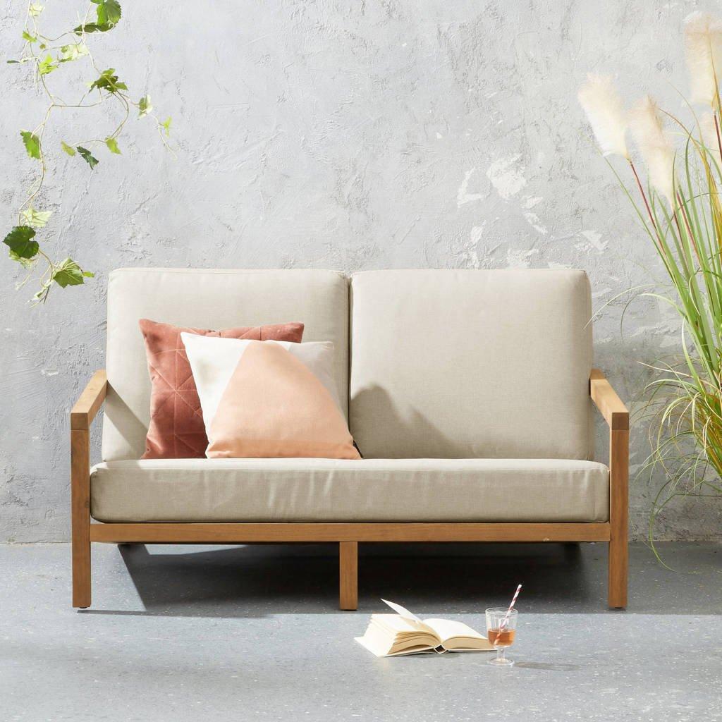 wehkamp home loungebank Evora, Teak/beige