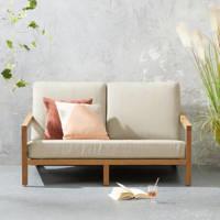 whkmp's own loungebank Evora, Teak/beige