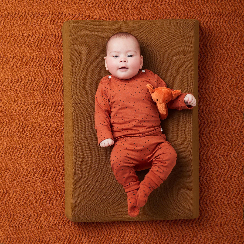 Noppies baby longsleeve met stippen witoker   wehkamp