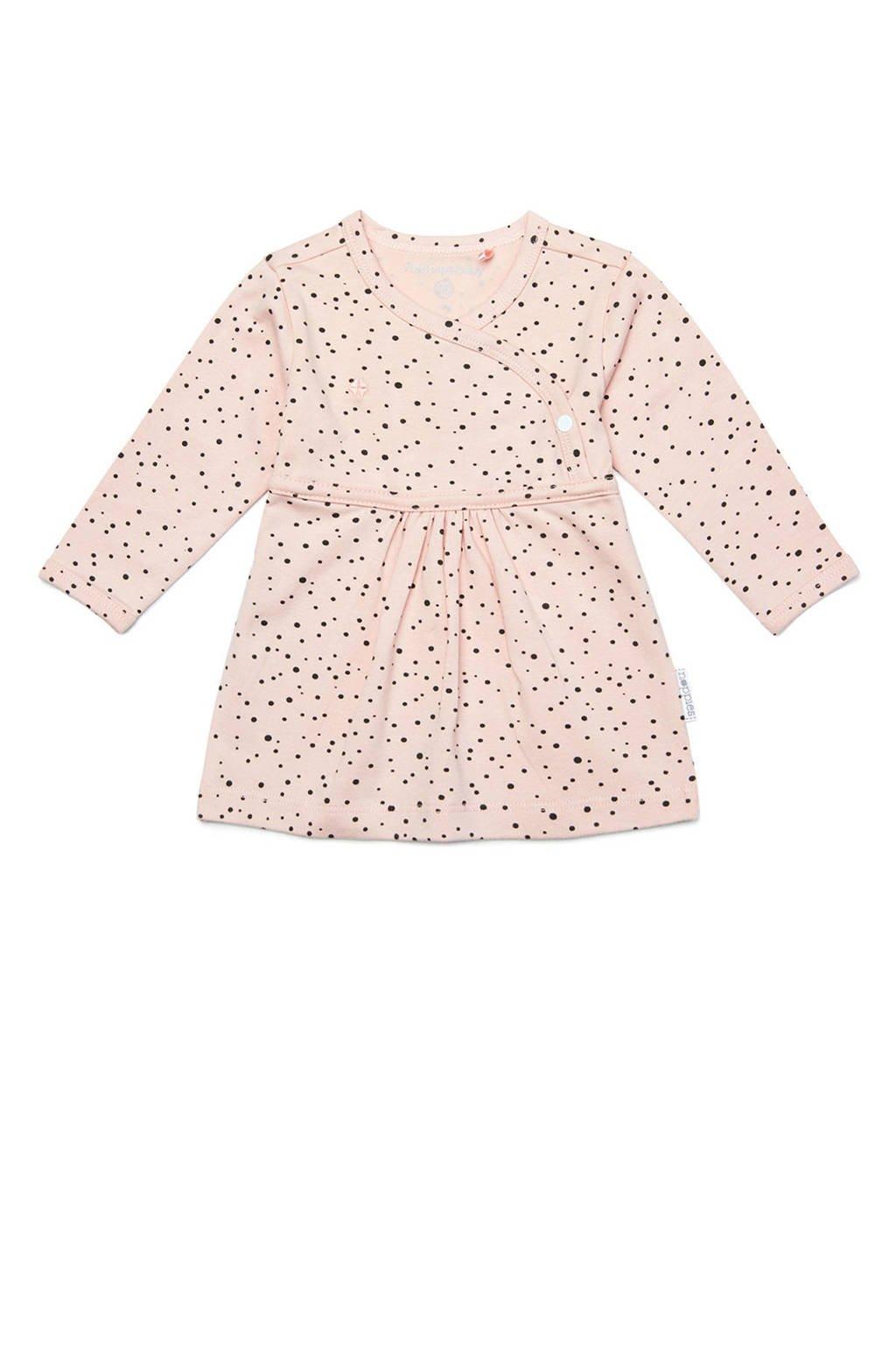 Noppies baby jurk Liz met biologisch katoen lichtroze, Lichtroze
