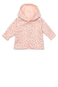 Noppies baby omkeerbaar vest Bonny lichtroze/zwart, Peach Skin-P214