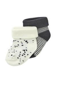Noppies newborn baby sokken- set van 2, Snow White-P098