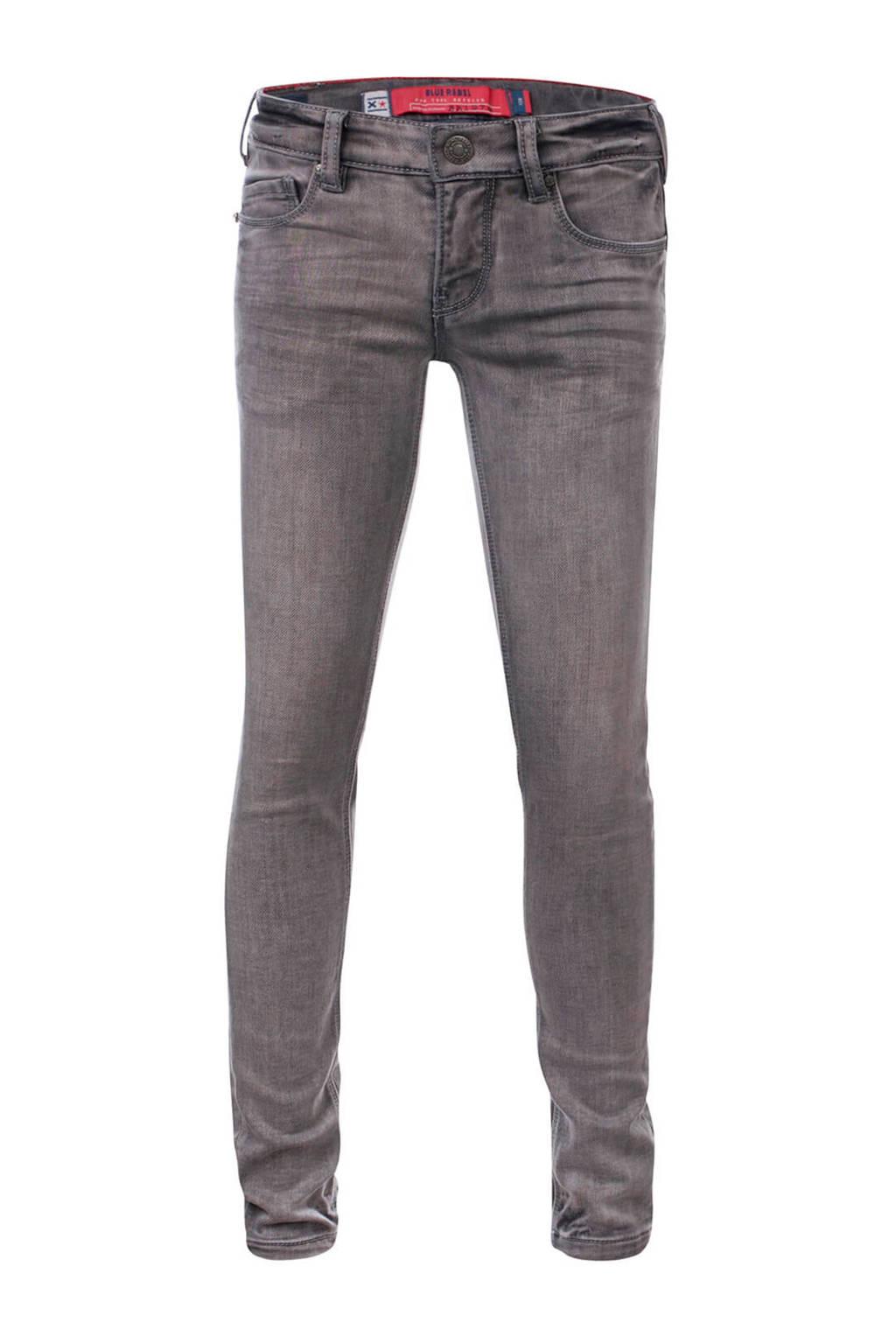 Blue Rebel skinny jeans Pyrope grijs, Grijs