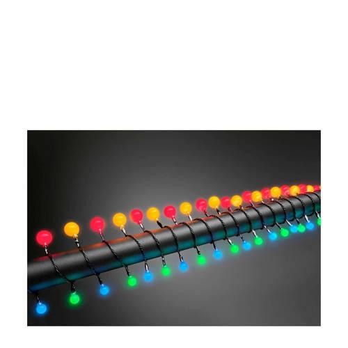 Motief lichtketting Bollen Buiten Werkt op het lichtnet LED RGB Verlichte lengte: 6.32 m Konstsmide