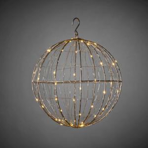 Led Metalen lichtbol