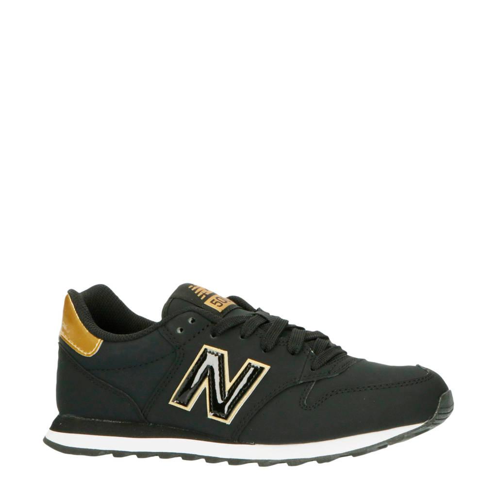 New Balance 500  sneakers zwart/goud, Zwart/goud