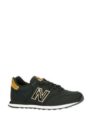 500  sneakers zwart/goud