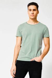 America Today gemêleerd T-shirt white/green, White/green