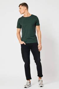 America Today gemêleerd T-shirt groen, Groen