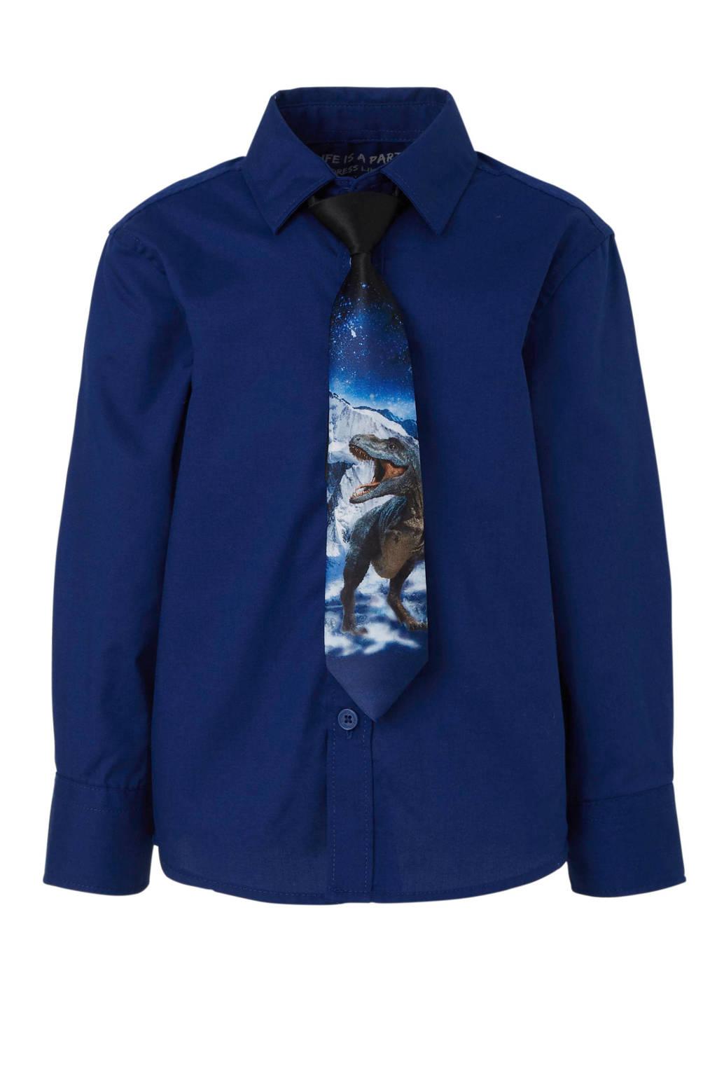 C&A Palomino overhemd donkerblauw, Donkerblauw