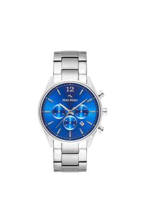 chronograaf MM00108 blauw/zilverkleur