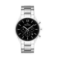 Mats Meier chronograaf MM00110 zilver, Zilverkleurig