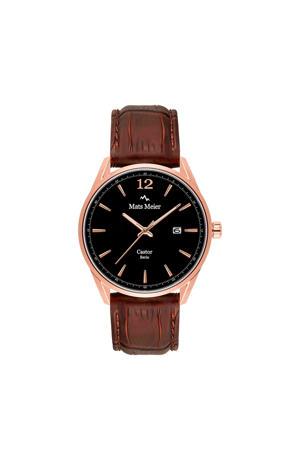 horloge MM01005 zwart/bruin