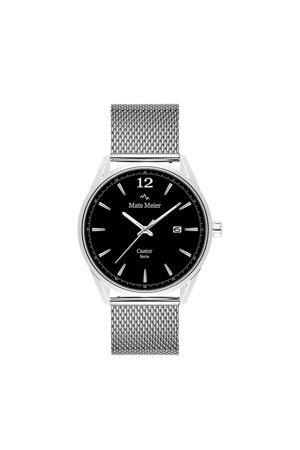 horloge MM01006 zwart/zilverkleur