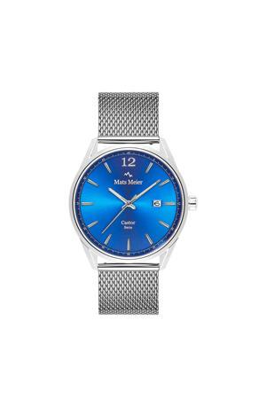 horloge MM01007 blauw/zilverkleur