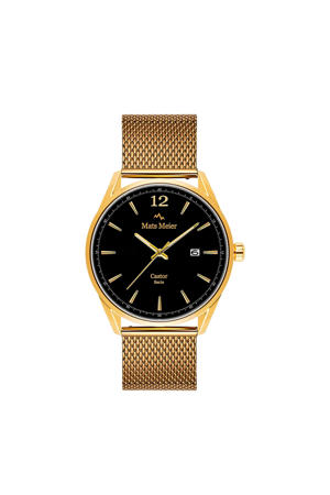 horloge MM01009 zwart/goudkleur