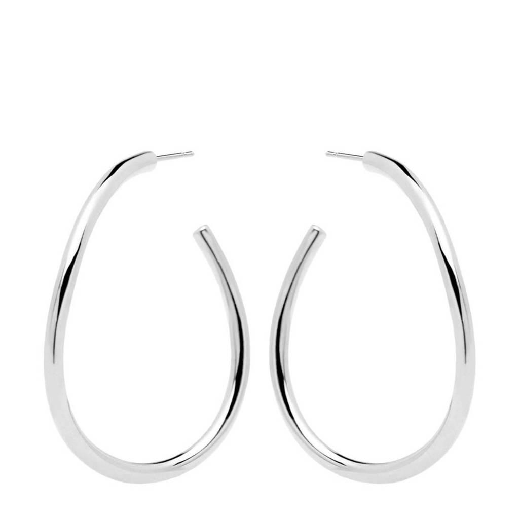P D Paola oorbellen AR02-087-U zilver, Zilverkleurig