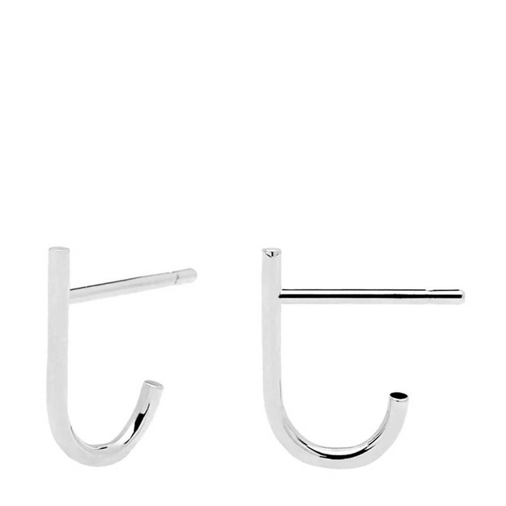 P D Paola oorbellen AR01-091-U zilver, Zilverkleurig