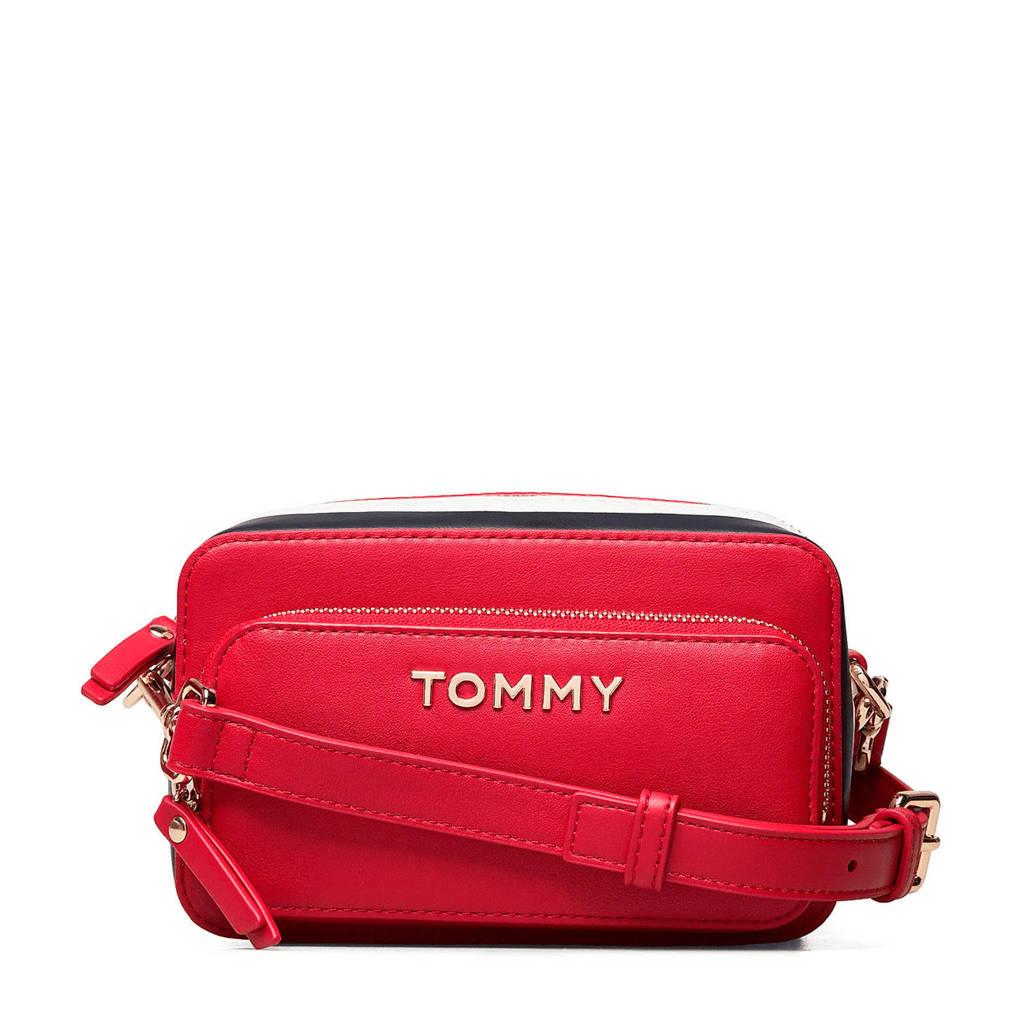 Tommy Hilfiger   crossbody tas rood, Rood