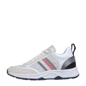 Premium Runner  leren sneakers wit