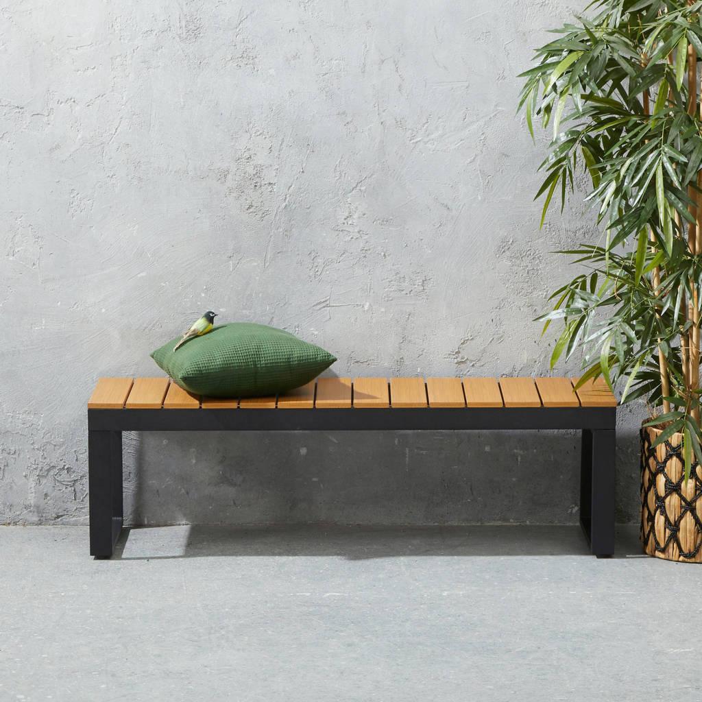 wehkamp home tuinbank Berkeley (140 cm), Naturel/zwart