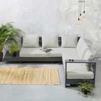 whkmp's own loungebank Belmonte, Antraciet/grijs