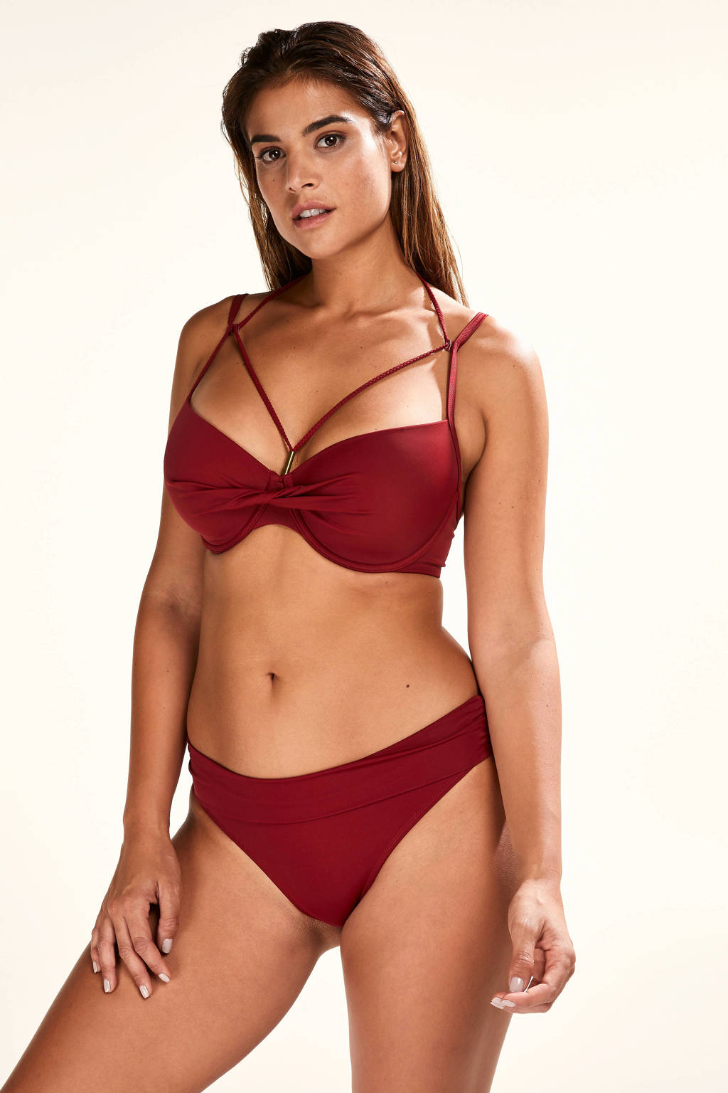 Core collection other omslag bikinibroekje Sunset Dream rood, Rood