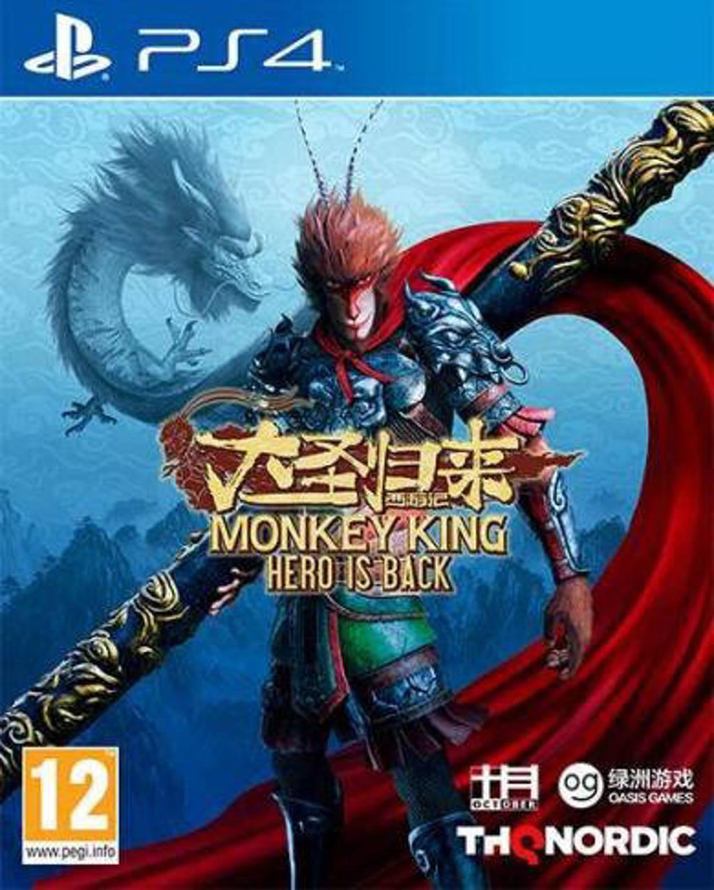 Monkey King - Hero is Back (PlayStation 4)