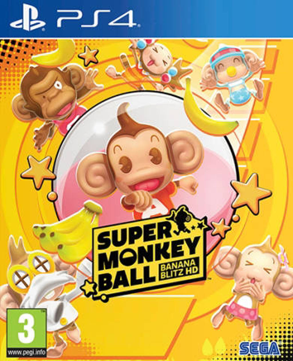 Super Monkey Ball Banana Blitz HD (Day One edition) (PlayStation 4)