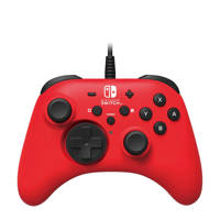 Hori Nintendo Switch bedrade controller rood, Rood