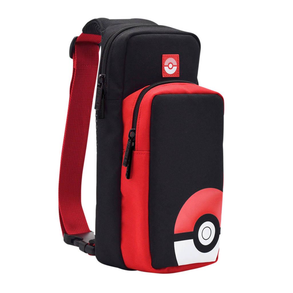 Hori Nintendo Switch Pokémon Trainer Pack - Poké Ball consoletas, Zwart, Rood