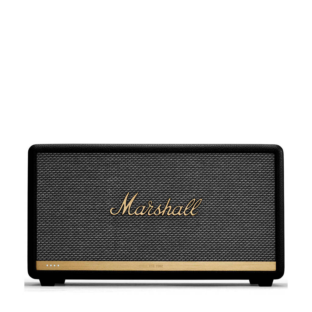 Marshall STANMORE II VOICE SPEAKER  Misty Blue Bluetooth speaker, Zwart, Goud, Grijs