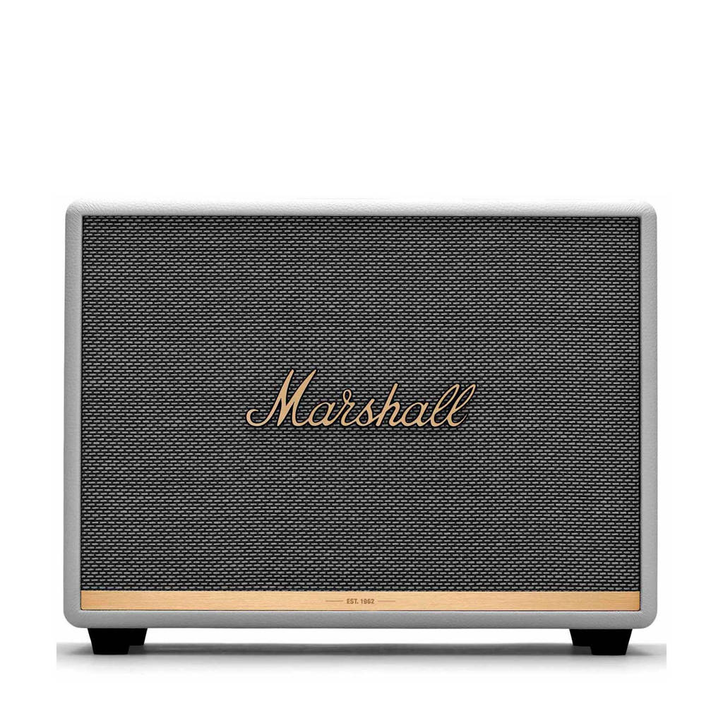 Marshall Woburn II  Pebble Grey Bluetooth speaker, Wit