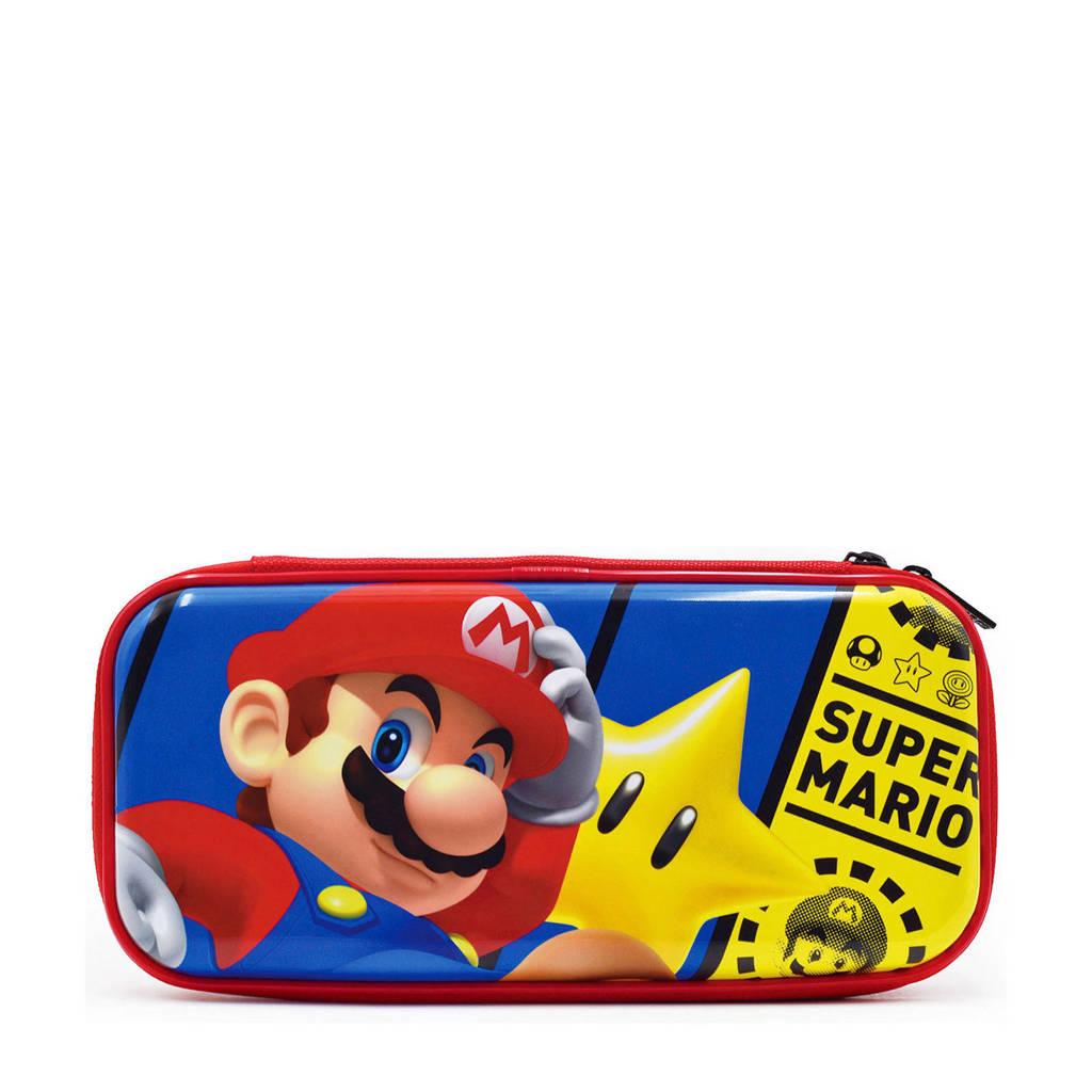 Hori Nintendo Switch consolehoes Mario, Blauw/rood