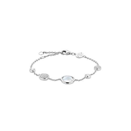 TI SENTO Milano 2901ZI zilveren armband met zirkonia