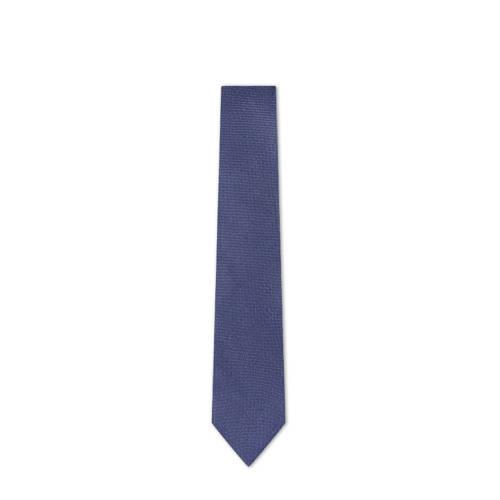 WE Fashion Van Gils stropdas blauw
