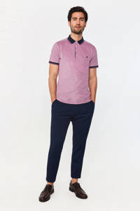 WE Fashion slim fit polo raspberry, Raspberry