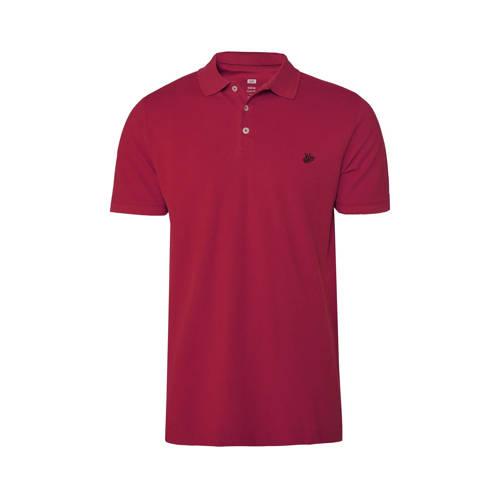 WE Fashion regular fit polo raspberry