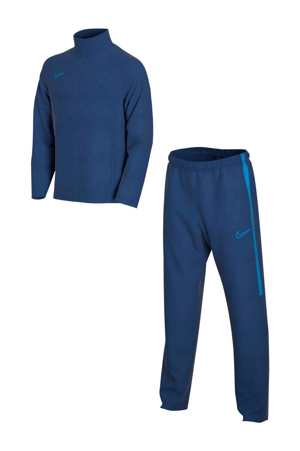 Nike Junior  trainingspak blauw, Blauw