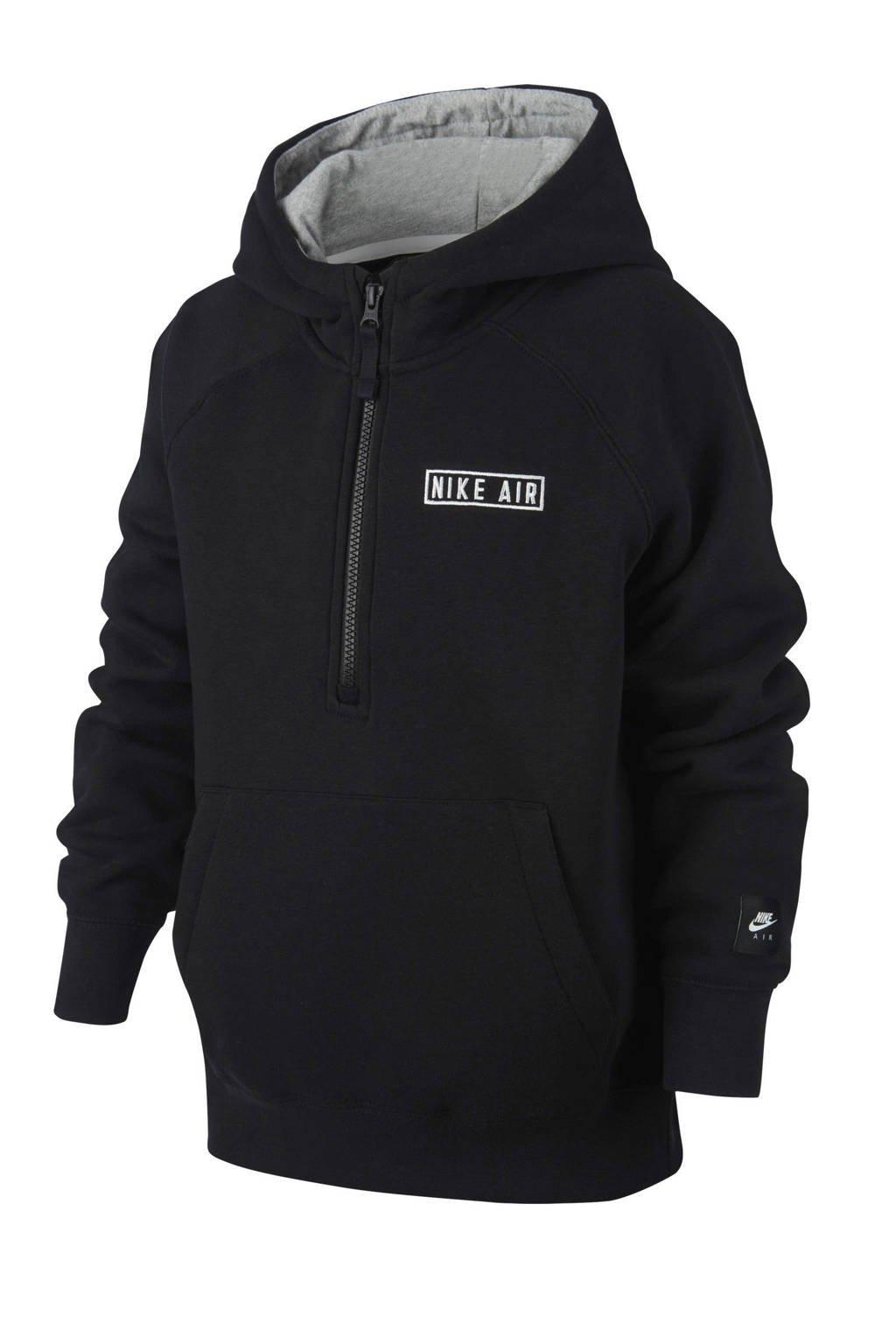Nike   Air hoodie zwart, Zwart