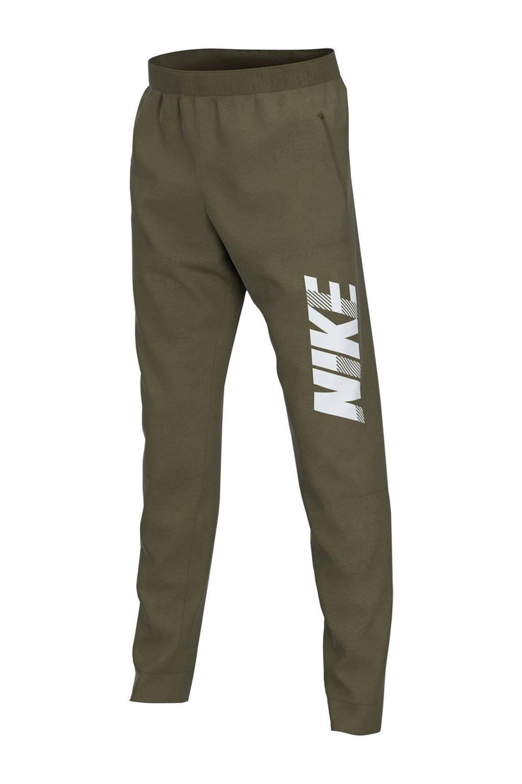 Nike   sportbroek kaki, Kaki