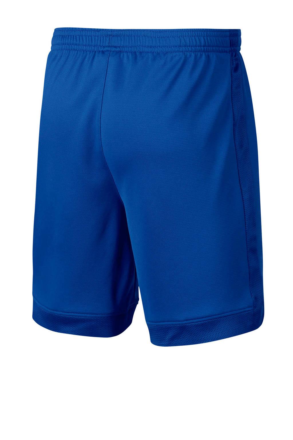 Nike   voetbalshort blauw, Blauw