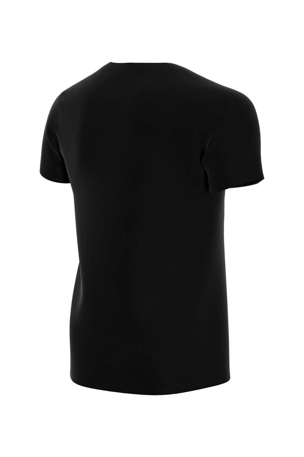 Nike Air T-shirt zwart, Zwart/wit