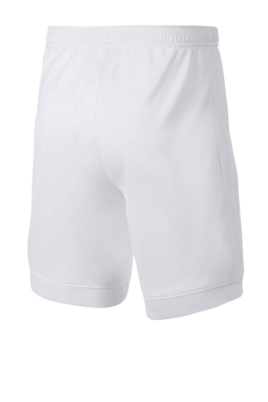 Nike Junior  voetbalshort wit, Wit