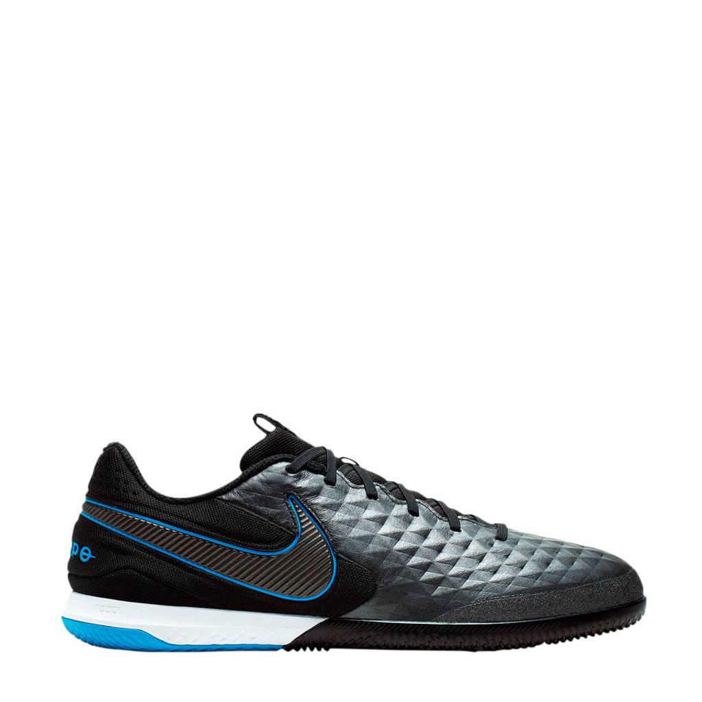 Nike Tiempo Legend 8 Pro Sr. voetbalschoenen zwart, Zwart/wit/blauw