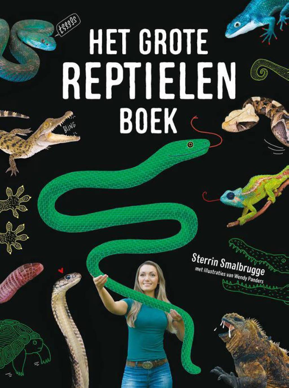 Het grote reptielenboek - Sterrin Smalbrugge