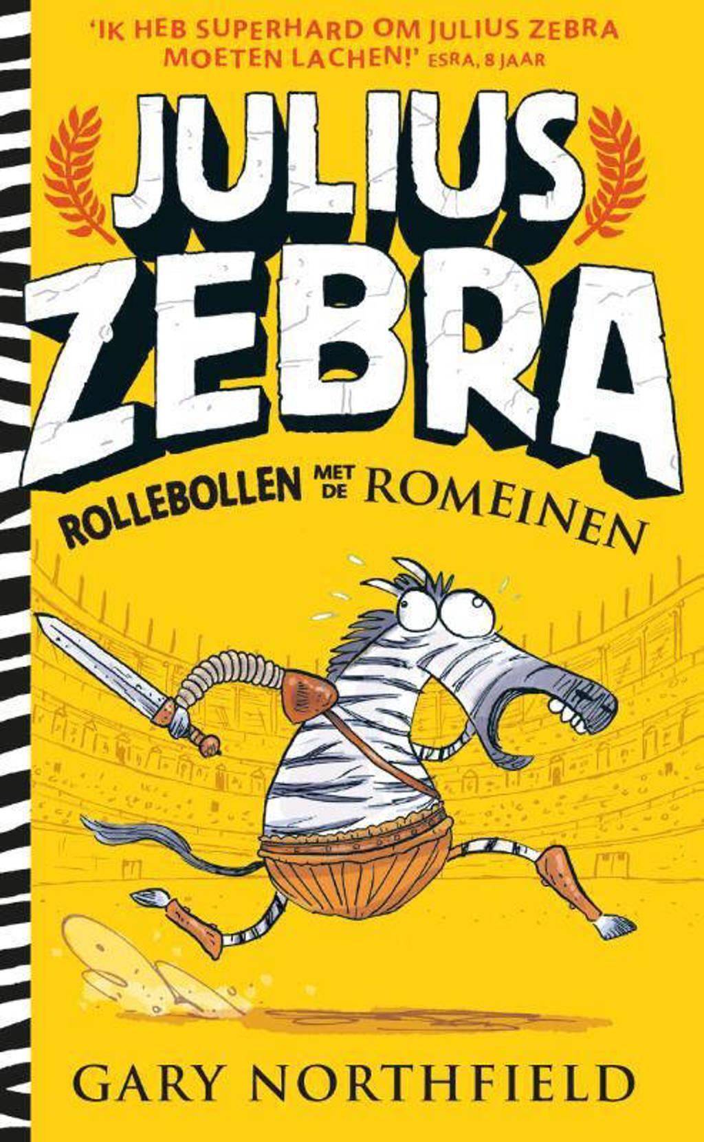 Julius Zebra: Rollebollen met de Romeinen - Gary Northfield
