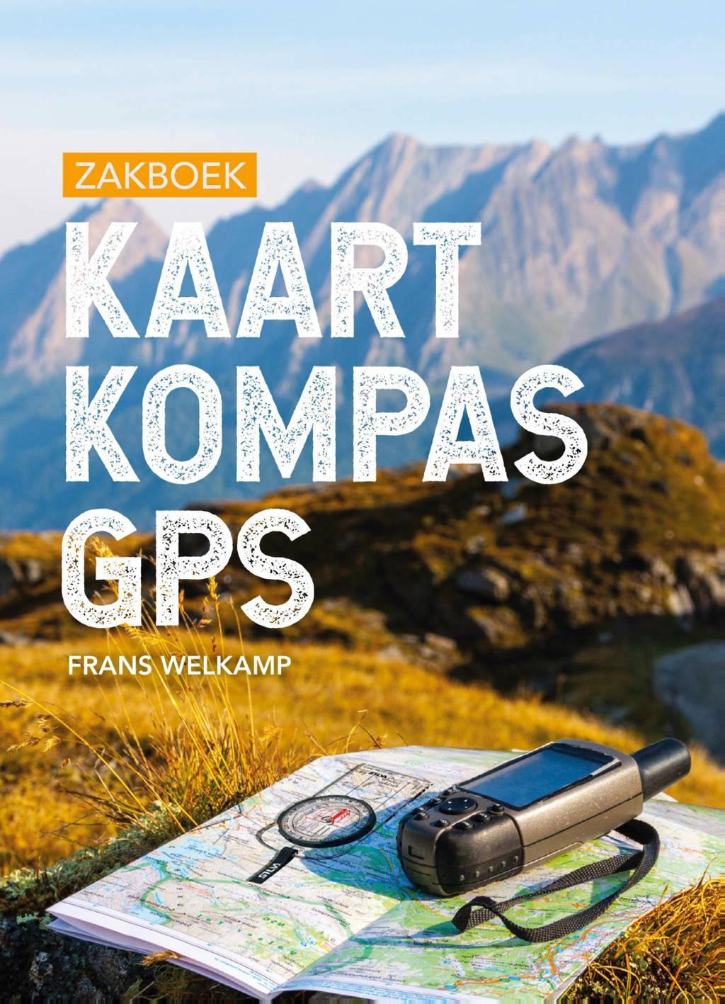 Zakboek Kaart Kompas GPS - Frans Welkamp